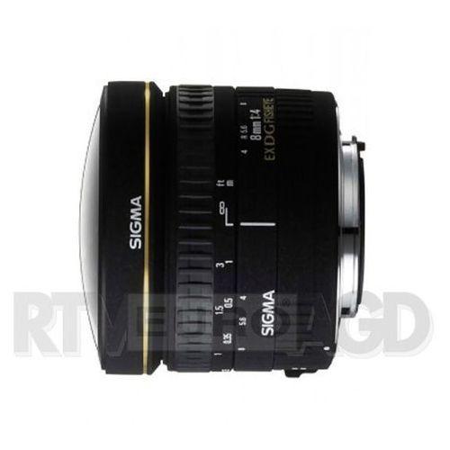 Sigma AF 8/3,5 EX DG Circular Fisheye Nikon - produkt w magazynie - szybka wysyłka! z kategorii Obiektywy fotograficzne