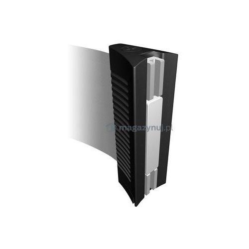 Rozwijana taśma ostrzegawcza esd + kaseta mini na śruby, zapięcie magnetyczne (długość 2,3m) wyprodukowany przez Tensator