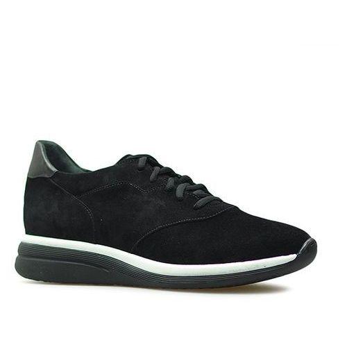 Sneakersy Ryłko 1LRE8_Z_YZ1 Czarne zamsz, kolor czarny