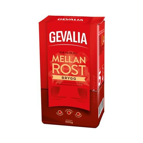 GEVALIA 500g Original Brygg Mellanrost Kawa mielona