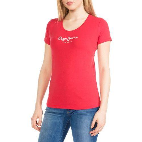 Pepe Jeans New Virginia T-shirt Czerwony M, kolor czerwony
