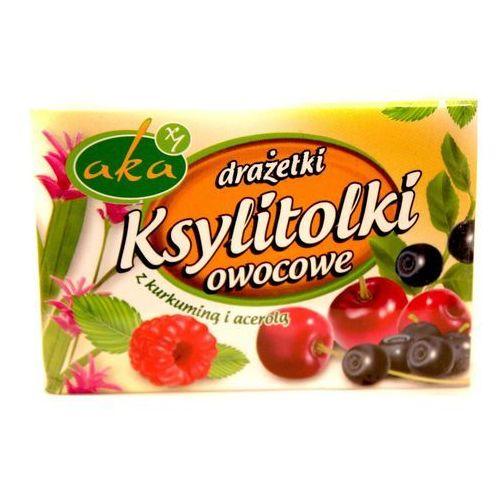 Ksylitolki owocowe 40g marki Aka