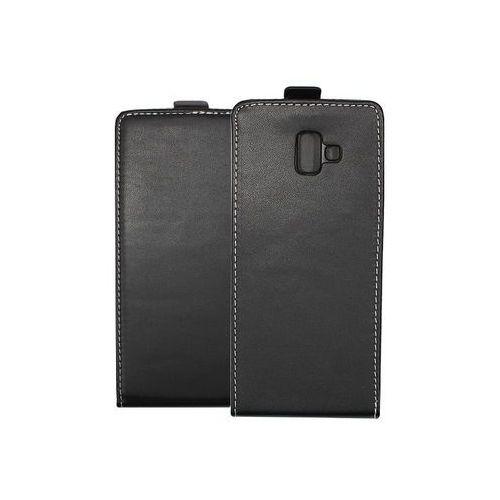 Samsung Galaxy J6 Plus - etui na telefon Forcell Slim Flexi - czarny, kolor czarny