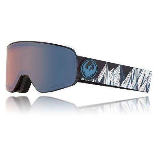 Dragon Gogle snowboardowe - nfx2 two c.benchetlersig/flblue+dksmk (345) rozmiar: os