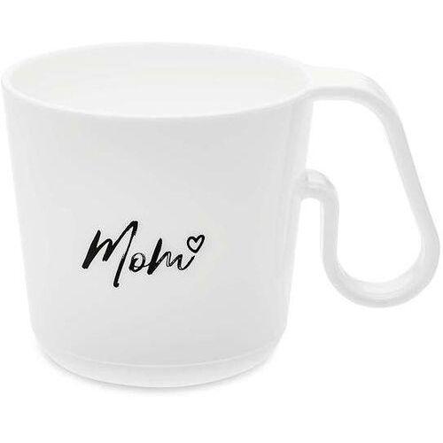 Kubek Maxx biały z napisem Mom
