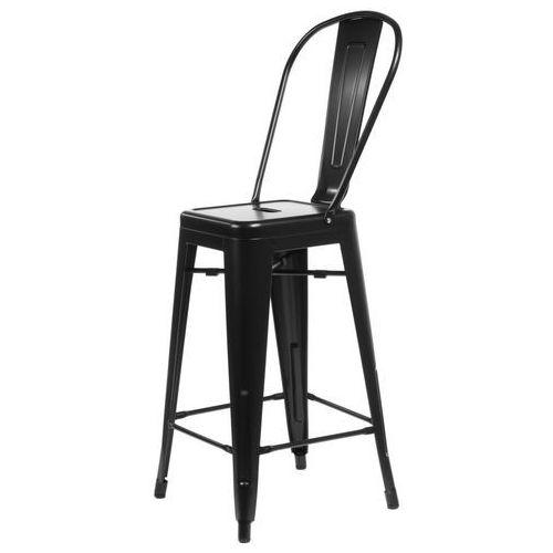 6362 stołek barowy parisback czarny marki D2