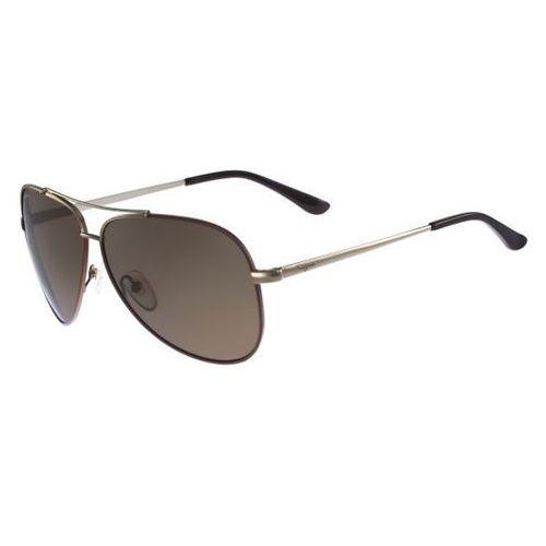 Okulary słoneczne sf 131sp polarized 211 marki Salvatore ferragamo