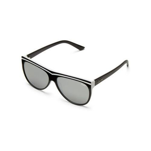 Okulary słoneczne qw-000223 hollywood nights blk/slv marki Quay australia