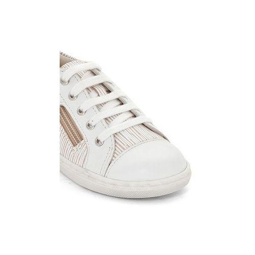 Aster Sportowe buty z ozdobnym suwakiem romane