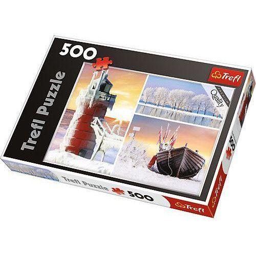 Trefl Puzzle 500 zima-