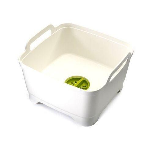 - miska z odpływem wash&drain - biała marki Joseph joseph