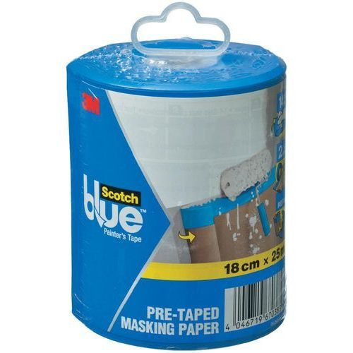 Papier maskujący 3M ScotchBlue™ DE272959342, (DxS) 25 m x 180 mm, 25 m, 1 szt. (4046719670383)