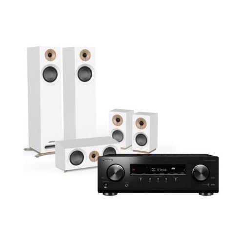 Kino domowe PIONEER VSX-534DB + JAMO S 805 HCS Biały, VSX534DB/S805HCS BIA
