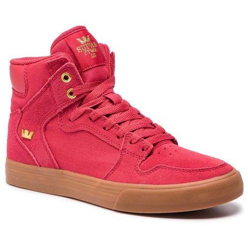 Sneakersy SUPRA - Vaider 08044-644-M Rose/Gold/Lt Gum, kolor różowy