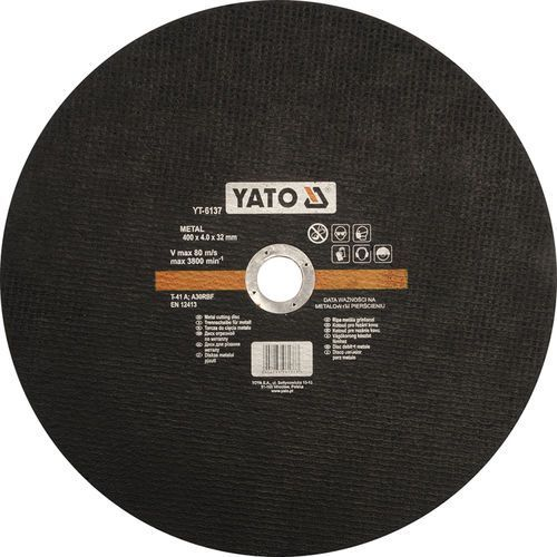 Yato Tarcza do cięcia metalu 400x4,0x32 mm yt-6137 - zyskaj rabat 30 zł