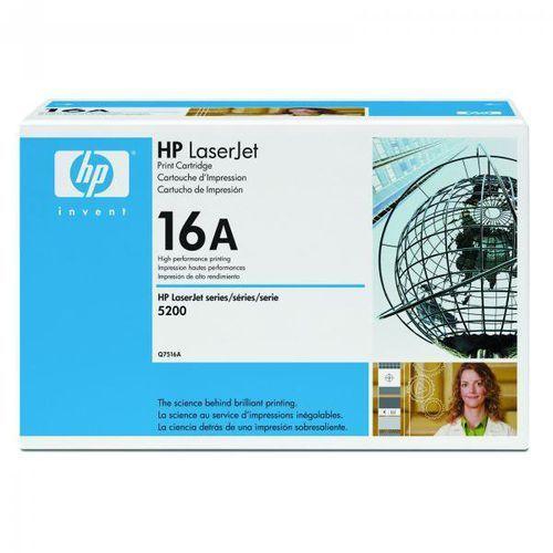 HP oryginalny toner Q7516A, black, 12000s, 16A, HP LaserJet 5200, TN, DTN (0829160755045)