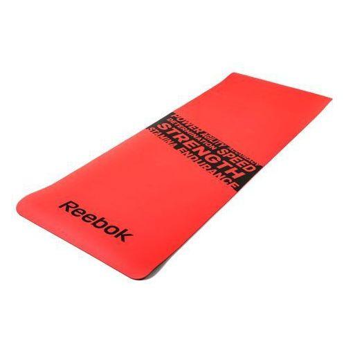"""REEBOK - RAMT-11024RDS - Mata do ćwiczeń """"STRENGTH"""" - Czerwony"""