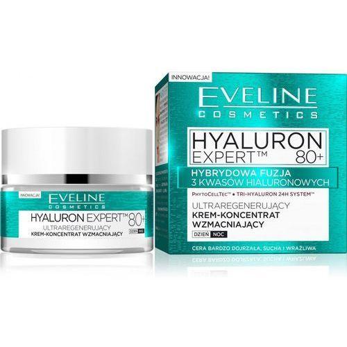 hyaluron expert 80+ krem-koncentrat ultraregenerujący na dzień i noc 50ml marki Eveline