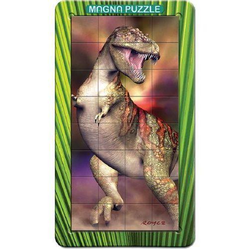 Piatnik , puzzle magnetyczne, 32 elementy, t-rex (5015766031125)