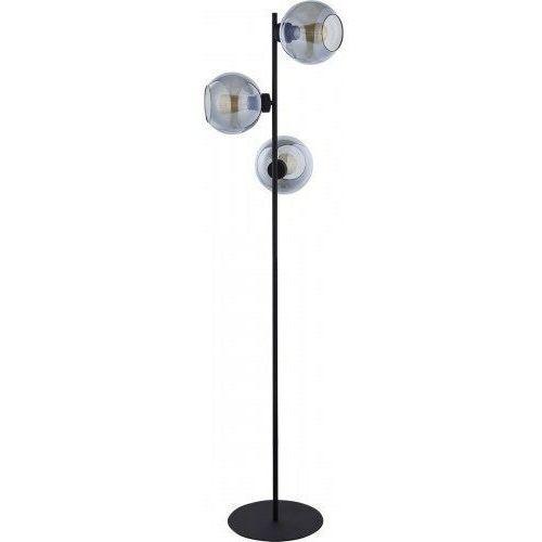 Tklighting Tk lighting cubus graphite 5239 lampa podłogowa stojąca 3x60w e27 grafit/czarny