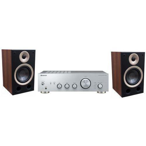 Zestaw stereo PIONEER A40AES + TAGA Azure B-40 Orzech