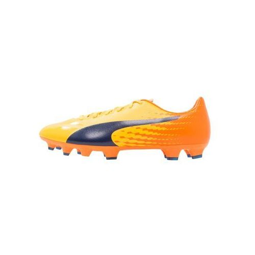 Puma EVOSPEED 17.2 FG Korki Lanki ultra yellow/peacoat/orange clown fish (4057826724395)