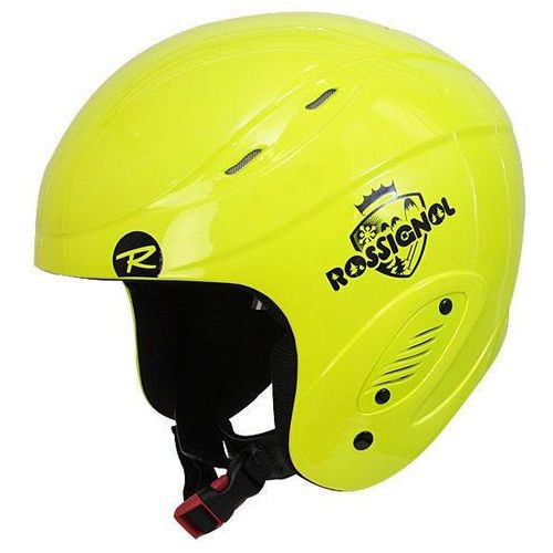 Kask comp junior neon yellow rk0c024 marki Rossignol