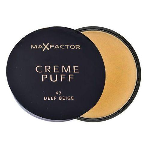 Max factor  creme puff puder do wszystkich rodzajów skóry odcień 42 deep beige (powder) 21 g (50884391)