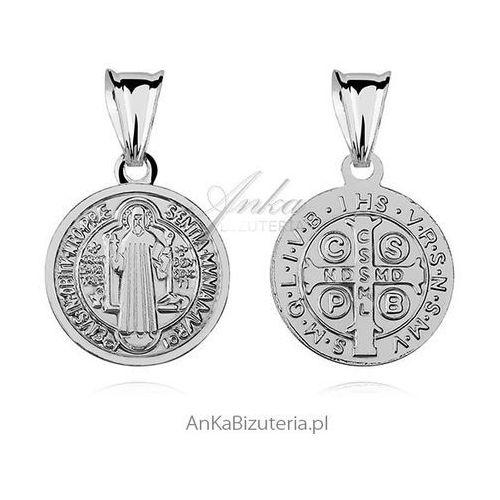 Medalik św. benedykta marki Anka biżuteria