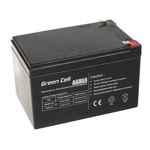 Akumulator AGM 12V 14Ah {151 × 98 × 98 mm} (GreenCell)