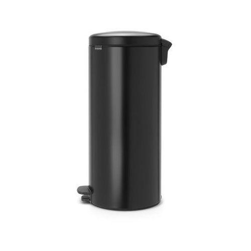 Kosz na śmieci pedałowy NewIcon 30l matowy czarny, 114540