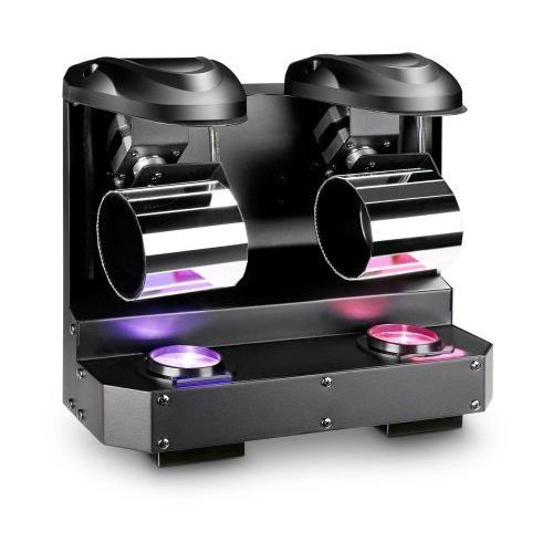 Cameo  nanoroll 200 - double led mini barrel scanner 10 w- powójny skaner baryłkowy