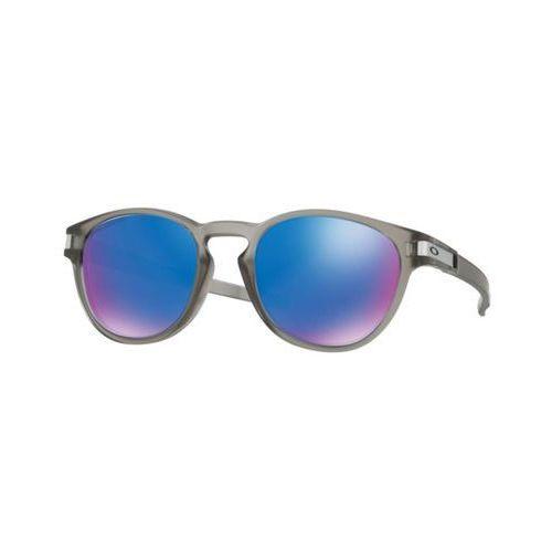 Okulary Słoneczne Oakley OO9349 LATCH Asian Fit Polarized 934906, kolor żółty