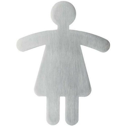 Durable Oznaczenie toalet metalowe - wc damski