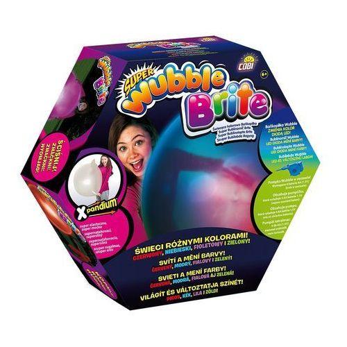 Cobi  - wubble - świecąca kolorowa bańkopiłka - z pompką - 81045