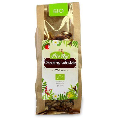 Bio raj (konfekcjonowane) Orzechy włoskie bio 130 g bio raj (5907738151521)