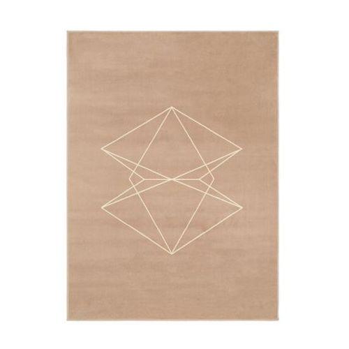 Dywan akar beżowy 160 x 220 cm marki Agnella