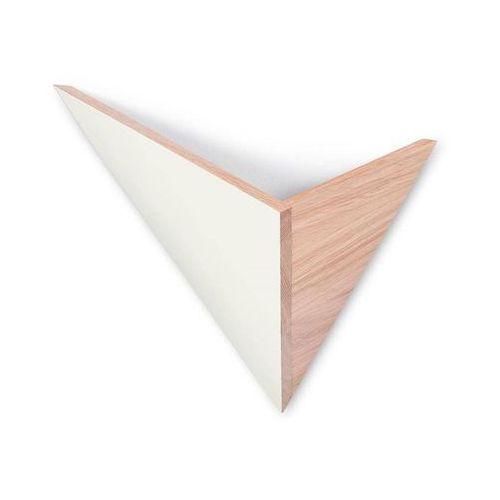 FLECHE-Kinkiet ścienny Dąb Dł.40cm, FLE BLANC/CHENE