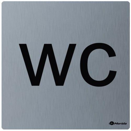 Piktogram wc stal szlachetna marki Merida