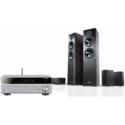 Yamaha Kino domowe rxv483t + nsf51b + nsp51b czarny