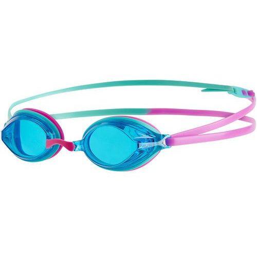 speedo Vengeance Okulary pływackie różowy/turkusowy 2018 Okulary do pływania