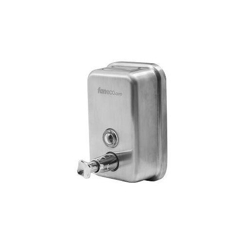 dozownik mydła w płynie ze stali nierdzewnej top mat 1 l marki Faneco