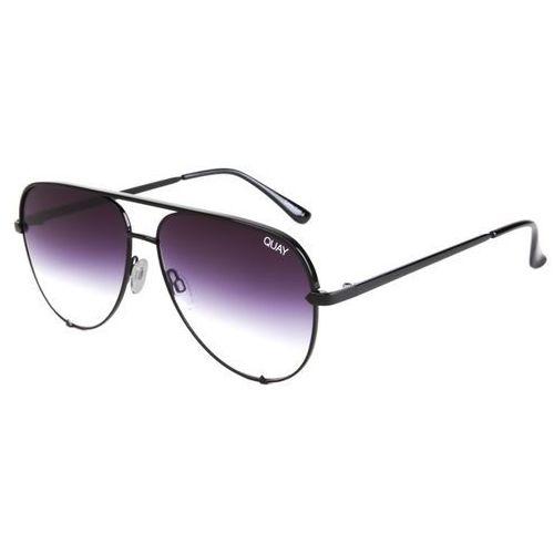 Okulary Słoneczne Quay Australia QC-000142 High Key BLK/FADE