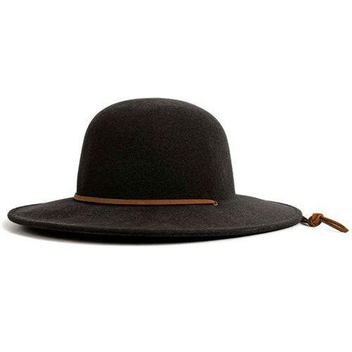 kapelusz BRIXTON - Tiller Hat Black (0100) rozmiar: M, kolor czarny
