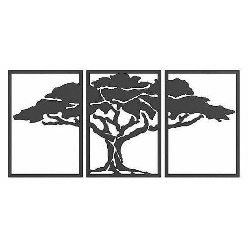 Decoartimo Metalowa dekoracja ścienna drzewo duże