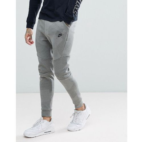 Nike Tech Fleece Tapered Fit Joggers In Green 886175-004 - Green