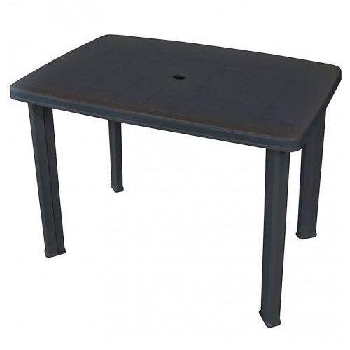 Praktyczny stół ogrodowy Imelda - antracytowy, vidaxl_43594
