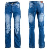 Męskie jeansowe spodnie motocyklowe W-TEC Shiquet, Niebieski, 3XL, 1 rozmiar