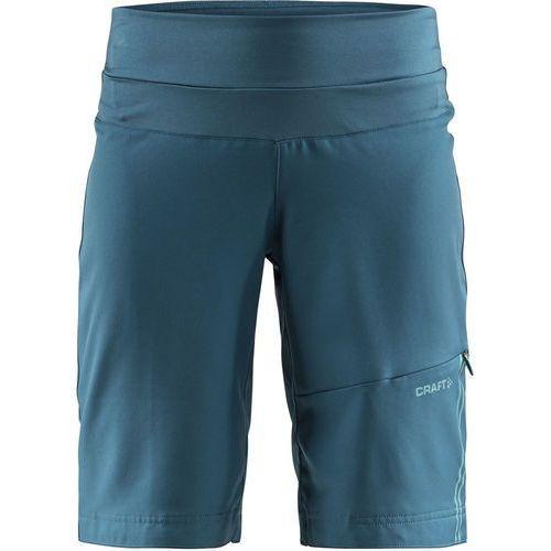 Craft velo xt spodnie rowerowe kobiety niebieski/petrol l 2018 spodenki rowerowe