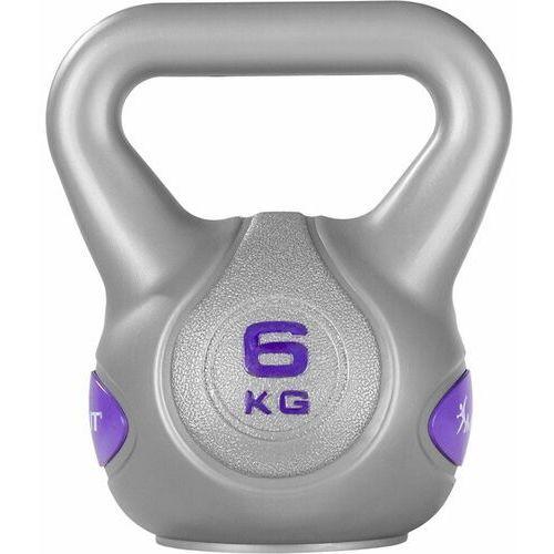 Movit ® Srebrna hantla kompozytowa kula kettlebell ketla 6kg - 6 kg (20040546)